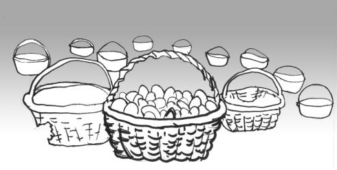 不要把鸡蛋放到同一个篮子