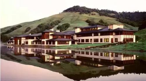 比尔盖茨豪宅全景
