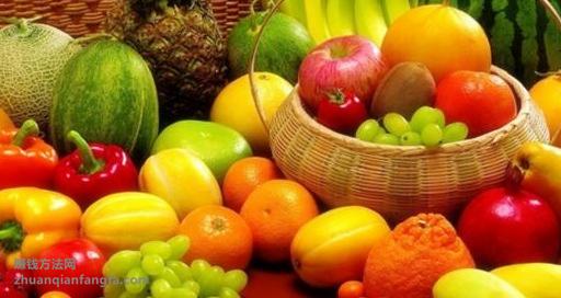 卖水果赚钱